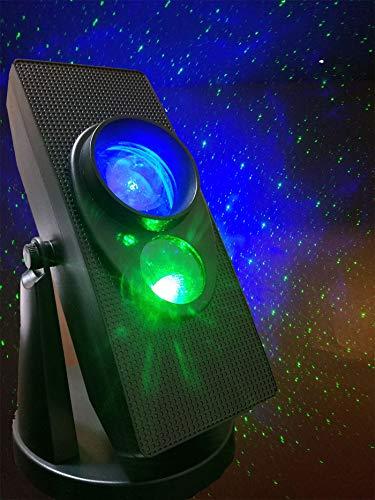 INSTANT TWILIGHT Laser Stars Hologram Projector Star Show, Romantic constellation night lights galaxy Light Planetarium projector