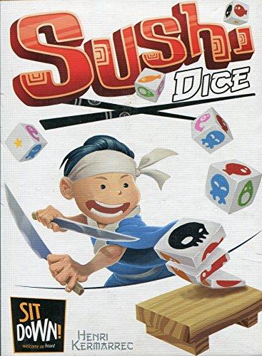 Ghenos Games - Sushi Dice, Gioco da Tavolo