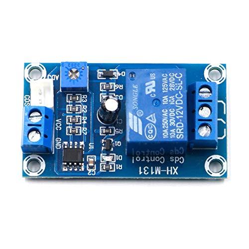 Relé electrónico XH-M131 DC 5V / 12V interruptor de control de luz Fotoresistor Módulo de retransmisión Sensor de detección 10A Brillo Módulo de control automático (Size : 24V)