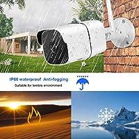 プロトコルの屋外設置に適した動き検出セキュリティカム720Pワイヤレスセキュリティカメラ(U.S. regulations, Transl)