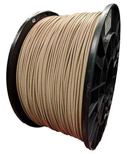 MG Chemicals WOOD - (WOOD/PLA MIX), 1.75 mm, 0.5 KG SPOOL - PREMIUM 3D PRINTER FILAMENT, 1.1 Pound, WOOD17W5