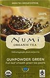 Numi Tea - Gunpowder Green Tea, 18 tea bags