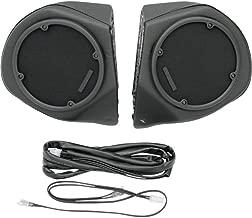 Hogtunes Rear Speaker Pod Shells only for 1996-2013 Harley-Davidson Electra Glide, Road Glide Tour Packs - RR-SPKR-POD