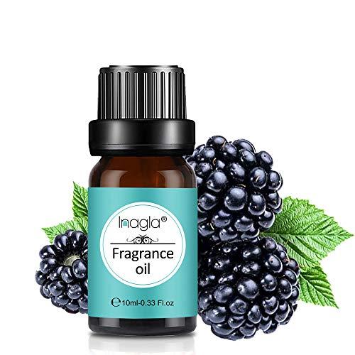 Inagla Aceites de Fragancia, Aceites Esenciales para Humidificadores, Aceites de Aromaterapia de Mora 10ML
