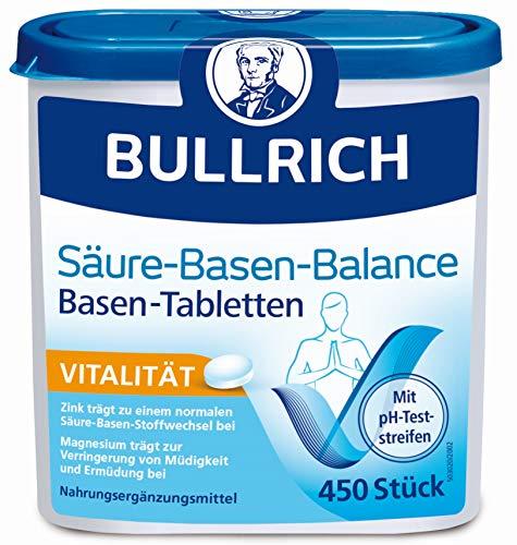 Bullrich Säure-Basen-Balance Basentabletten, 450 pzas Tabletas