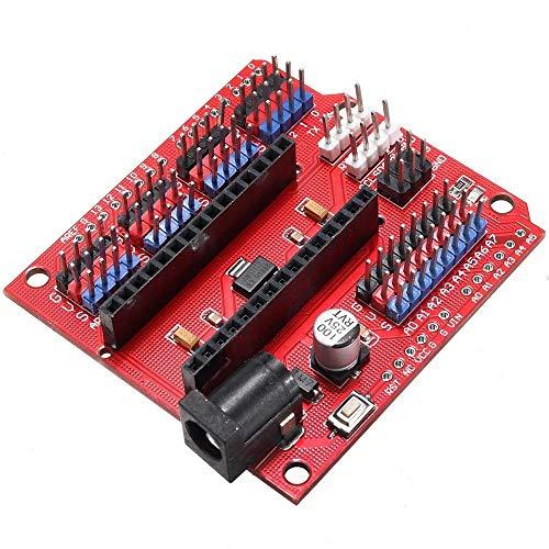 Für Arduino – Produkte, die mit offiziellen Boards arbeiten, 3 Stück Multifunktions-Nano-Shield-Nano-Sensor-Erweiterungsplatine Erweiterungsboard Modul