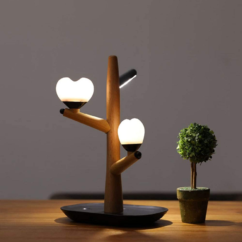 WXCCK Als Herzbaum Lampe USB Charging Led Smart Human Body Induction Night Light Decoration Study Induction Night Light