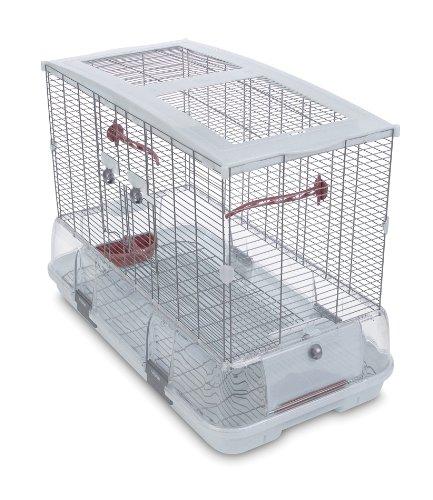 Vision Cage pour Oiseaux Jaula ModeloL01,75 x 38 x 54,5 cm, (LxBxH): 74,9 x 38,1 x 54,6 cm ✅