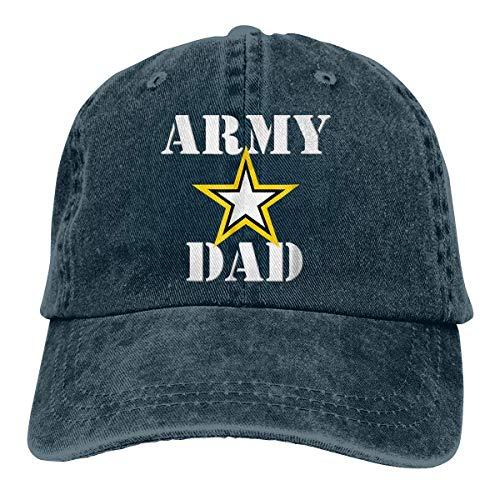 RFTGB Gorras Unisex Accesorios Sombreros Gorras de béisbol Sombreros de Vaquero Army Dad Denim Baseball Cap, Unisex Vintage Dad Hat, Golf Hats, Adjustable Plain Cap