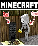 Monster School - Good Baby Wither Skeleton and Bad Baby Zombie - Minecraft Comic book (English Edition)