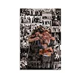 One Direction Band Poster Decorative Painting Canvas Wall Art Living Room Posters Bedroom Painting 08x12inch(20x30cm)