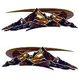 Montana 2 RV Keystone Mountain Scenes Decal Graphics -68-5