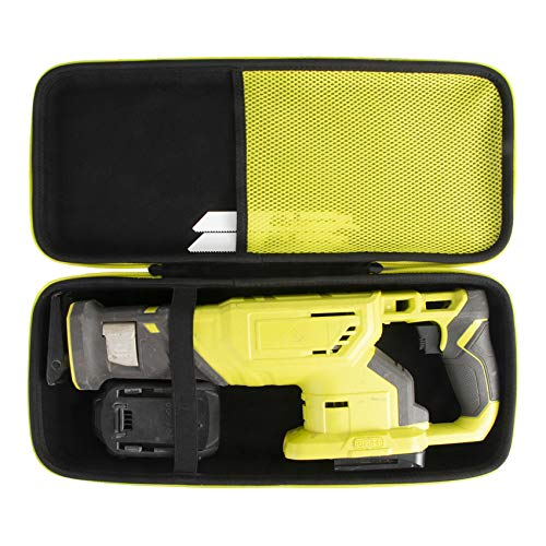 Khanka Hard Tool Case Replacement for Ryobi P519 18V One+ Reciprocating Saw,Case Only