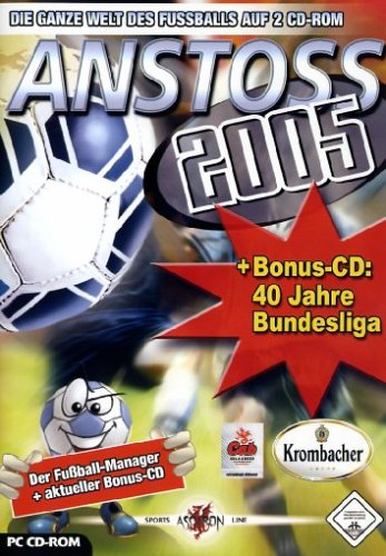 Anstoss 2005 + Bonus-CD 40 Jahre Bundesliga