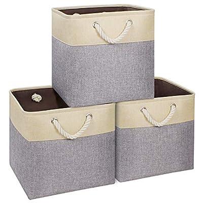 "Amazon - 60% off on  Storage Cube 13""x13"",Durable Storage Basket for Cube Organizer"