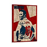 BEIAI Wayne Rooney Art Poster, dekoratives Gemälde,