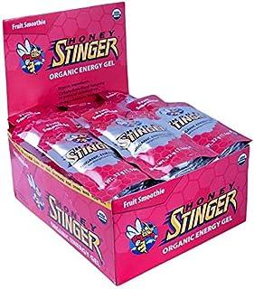 HONEY STINGER Food Org Fruit Gel (Box of 24), 1.3-Ounce