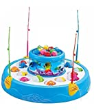 Party Hub Fish Catching Game Big with 26 Fishes and 4 Pods Inclues Music and Lights Assorted Color