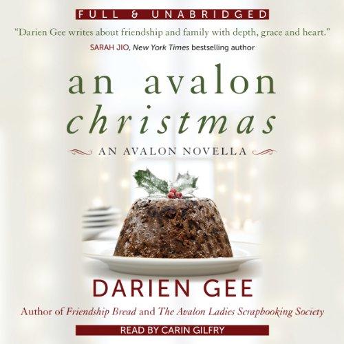 An Avalon Christmas audiobook cover art