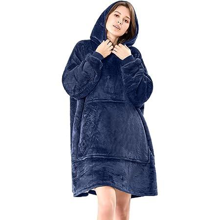 Lushforest Hoodie Sweatshirt, Damen Kapuzenpullover, Riesen-Sweatshirt, Super weich und bequem, Geeignet für Erwachsene, Männer, Frauen, Jugendliche