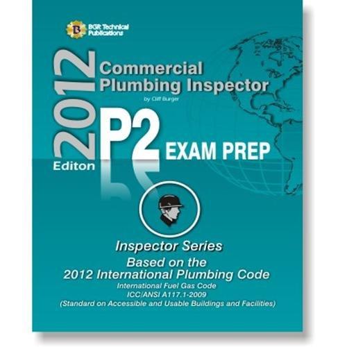 Commercial Plumbing Inspector P2 Exam Prep