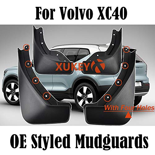 XUKEY Set Molded Universal Mud Flaps For Adam Agila Antara Astra Corsa Splash Guards Mudguards Front Rear Mudflaps