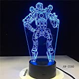 Lampe d'illusion 3D Led...