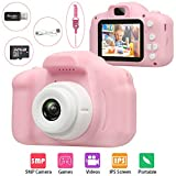 Best Kids Camcorders - Kids Digital Camera, HOOGC Toy Gifts for 3-10-Year-Old Review