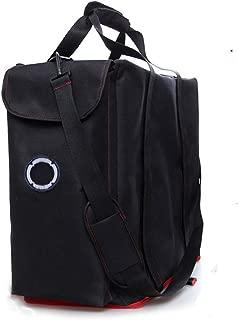 Buwico Desktop PC Computer Main Processor Travel Storage Carrying Case Bag,Black
