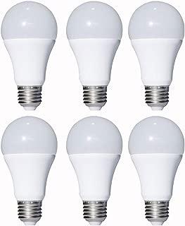 12V Low Voltage LED Light Bulbs - Warm White 7W E26 Standard Base 60W Equivalent - DC/AC Bulb for RV, Solar Panel Project, Boat, Garden Landscape, Off-Grid Lighting (6 Pack)
