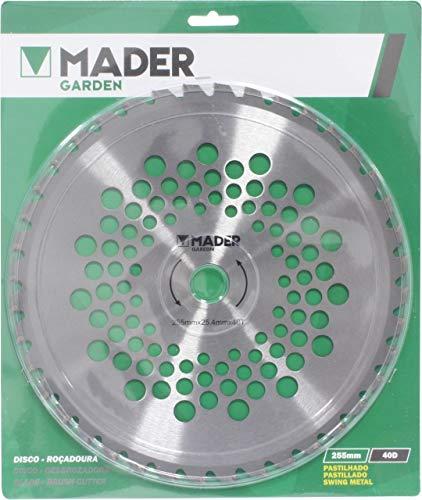 Mader Garden Tools 48046 Disco Desbrozadora 40D 255mm-48046