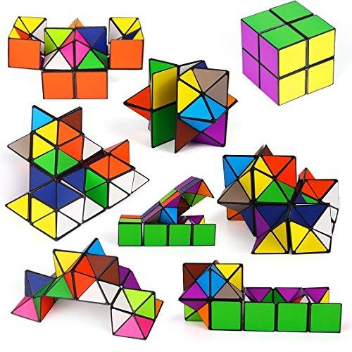 Brigamo ❖ Zauberwürfel Mega Cube Anti Stress Fidget Würfel ❖