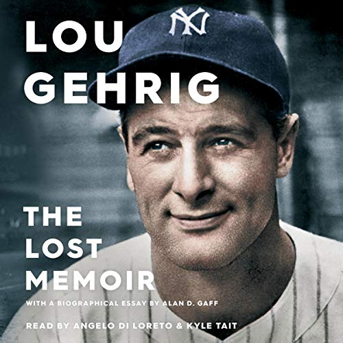 Lou Gehrig audiobook cover art