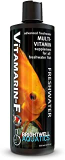 Brightwell Aquatics 17 fl. oz. Vitamarin-F Advanced Multi-Vitamin Supplement for All Freshwater Fish, 500 mL