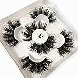 Gmagictobo 3D Mink Lashes Fluffy Wispy Dramatic False Eyelashes Siberian High Volume Luxury Makeup Strip Eye Lashes Pack