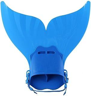 حذاء تدريب رياضات الغوص والسباحة وباقي الرياضات المائية من مونوفين للاطفال على شكل زعنفة حورية البحر