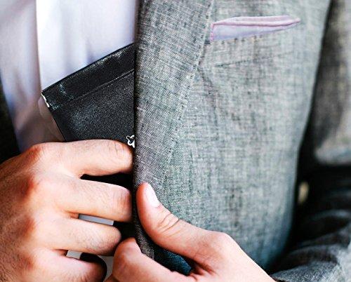 Condom Case | 3 Pocket Condom Holder | Discreet Leather Condom Carrier