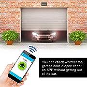 Abridor-de-Puerta-de-Garaje-Inteligente-Remoto-Controlador-de-Interruptor-de-Garaje-24-GHz-Conexin-WiFi-de-Acceso-Multiusuario-y-Monitor-Remoto-para-IFTTT-Smart-LifeEUPlug