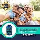 Omega 3 Fish Oil in Triglyceride Form - GMO Free, Mercury Free, 180 Softgels, 1000mg - Burpless Lemon Flavored, Supplement Pills (90 Day Supply) 620 mg DHA, 820 mg EPA per Serving #3