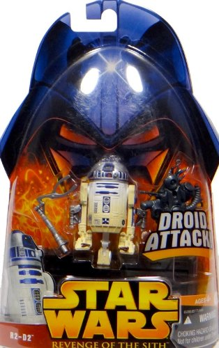 Hasbro R2-D2 with Droid Attack No.7 - Star Wars Revenge of the Sith Collection 2005