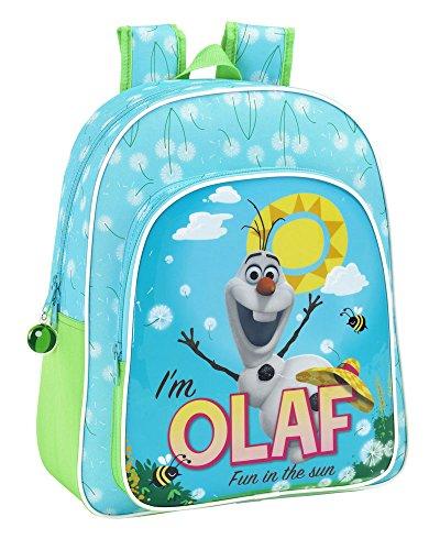 Disney Frozen – Zaino Junior adattabile, motivo Olaf, 32 x 38 cm (Safta 611514640)