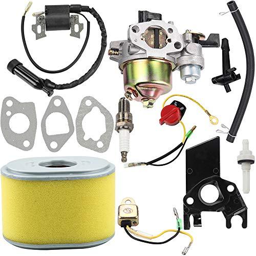 Dalom GX160 Vergaser + Zündspule + Luftfilter Tune Up Kit für Honda GX140 GX 160 GX168 GX200 5HP 5,5 PS 6,5 PS Motor