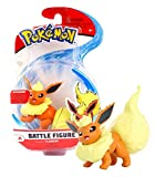 Wicked Cool Toys Pokemon Flareon Battle Figure Pack