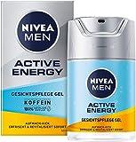 NIVEA MEN Active Energy Gesichtspflege Gel (50 ml), revitalisierende Gesichtscreme für Männer, schnell