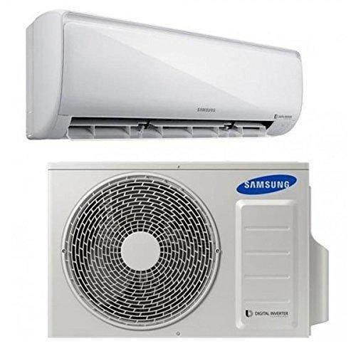 Samsung AR12MSFPEWQXET condizionatore fisso Condizionatore unità esterna Bianco
