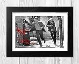 Engravia Digital Paul Newman & Robert Redford als Butch