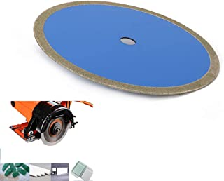 Join Ware 8 Inch 60# Continuous Rim Diamond Saw Blade Cut Glass, Glass Tile, Jade, PVC, Plastic Pipe - 1