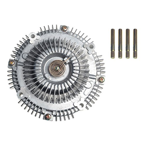 A-Premium Engine Cooling Fan Clutch Replacement for Toyota Land Cruiser 1975-1992 4Runner Pickup 1988-1995 T100 Isuzu Rodeo Trooper