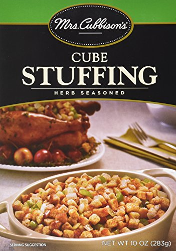 Mrs. Cubbison's Herb Seasoned CUBE Stuffing 10oz. (4 Boxes)