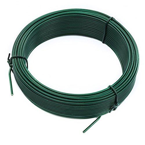 E-FLOR Binde-Draht grün 2,00 mm 25 m Blumenwickeldraht Blumendraht Bindedraht
